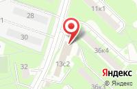 Схема проезда до компании Абслайн Студия в Москве