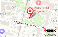 Схема проезда до компании Нефедьево в Москве