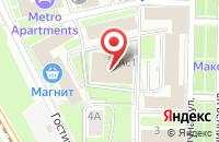 Схема проезда до компании Бион в Москве