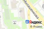 Схема проезда до компании Почтовое отделение №127322 в Москве