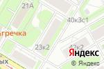 Схема проезда до компании Эффективные решения в Москве