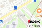 Схема проезда до компании Окно помощи в Москве
