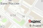 Схема проезда до компании Vital Partners в Москве
