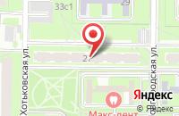 Схема проезда до компании Фабрика Печати в Москве