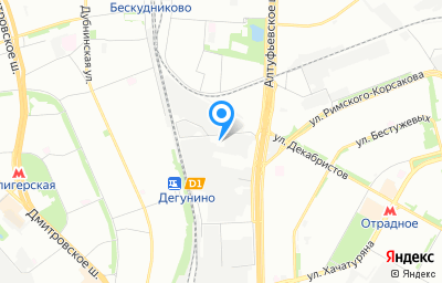 Местоположение на карте пункта техосмотра по адресу г Москва, ул Поморская, д 3