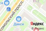 Схема проезда до компании Takeshy Kurosawa в Москве