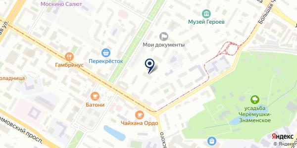 Офисстройинвест на карте Москве