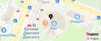 РЕГИОН ОНЛАЙН на карте Москвы
