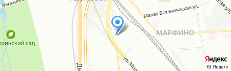 Megapolis на карте Москвы