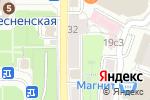 Схема проезда до компании Де Велюр в Москве