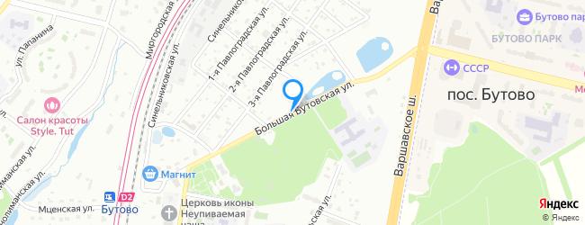 Большая Бутовская улица