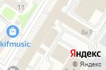 Схема проезда до компании Red Agency в Москве