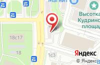 Схема проезда до компании СтанкоСпецСервис в Москве