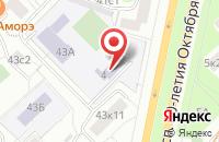 Схема проезда до компании Магнит в Большом Анисимово