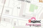 Схема проезда до компании Apartlux в Москве