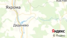 Гостиницы города Шустино на карте