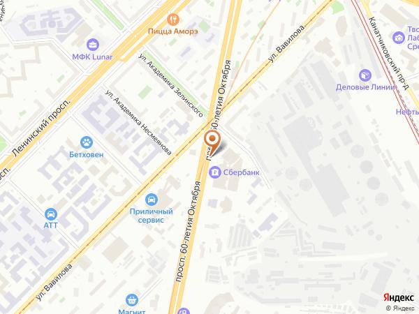 Остановка «Просп. 60-летия Октября, 9», проспект 60-летия Октября (1003148) (Москва)