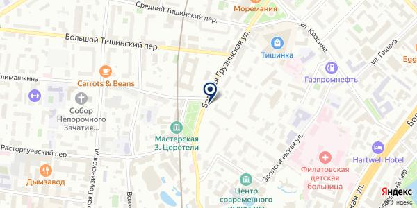Московское общество многодетных семей на карте Москве