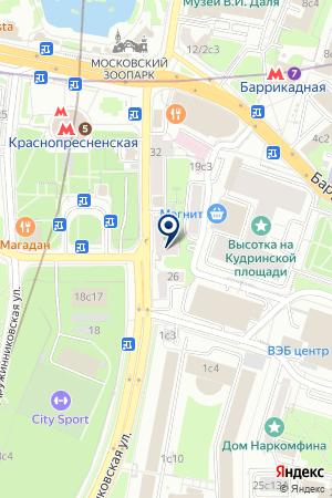 ДОМ КРАСОТЫ на карте Москвы