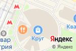 Схема проезда до компании Atami в Москве