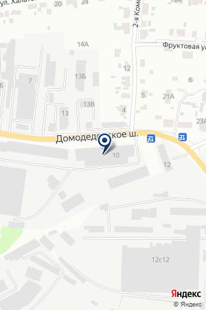 МАГАЗИН СТРОЙХОЗТОВАРОВ ВЫБОР на карте Дедовска