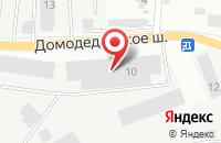 Схема проезда до компании СДЭК в Подольске
