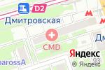 Схема проезда до компании Гарант и Право в Москве