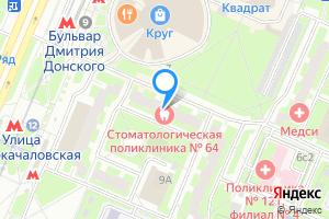 Двухкомнатная квартира в Москве б-р Дмитрия Донского, 9к2