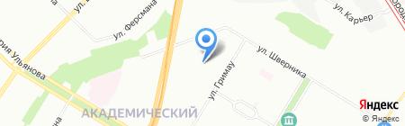 Teplowin на карте Москвы