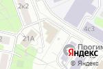 Схема проезда до компании Teplowin в Москве