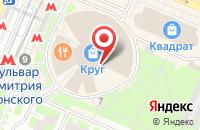 Схема проезда до компании Курочка с нами в Москве
