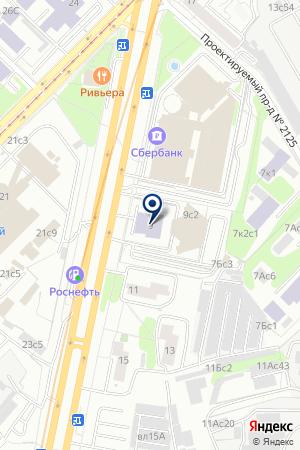 ИНФОРМАЦИОННЫЙ ЦЕНТР АНИТЕХ на карте Москвы