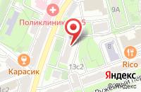 Схема проезда до компании Центр Социальных Программ и Инноваций в Москве