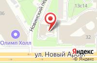 Схема проезда до компании Эрин в Москве