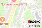 Схема проезда до компании Нотариус Громыко Т.В. в Москве