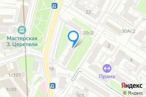Двухкомнатная квартира в Москве Большая Грузинская, д.20