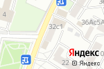 Схема проезда до компании Элита Флора в Москве