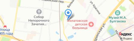 АВТОСНАБ К на карте Москвы
