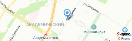 НК РЕКОРД на карте Москвы