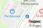 Схема проезда до компании Магазин сувениров на ул. Гримау в Москве
