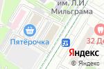 Схема проезда до компании Мясной дворик в Москве