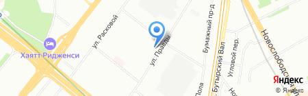 Iмперия Sтиля на карте Москвы