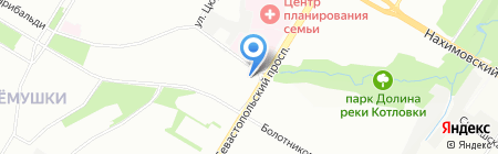 Тоуэр на карте Москвы