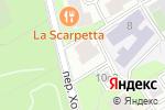 Схема проезда до компании Президент-Сервис в Москве