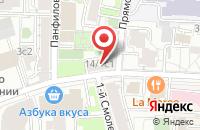 Схема проезда до компании Планета Знаний в Москве