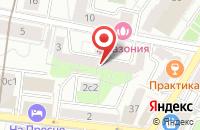 Схема проезда до компании Хэнд Мэйд в Москве