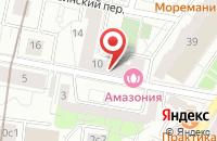Схема проезда до компании Трастстройдом в Москве