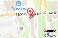 Схема проезда до компании Финэкспертстрой в Москве