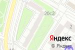 Схема проезда до компании Центропроектстрой в Москве