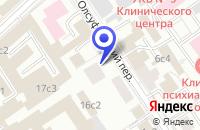 Схема проезда до компании ЛИЗИНГОВАЯ КОМПАНИЯ ИМУЩЕСТВЕННАЯ ОПЕКА в Москве